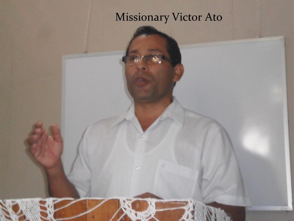 Missionary Victor Ato