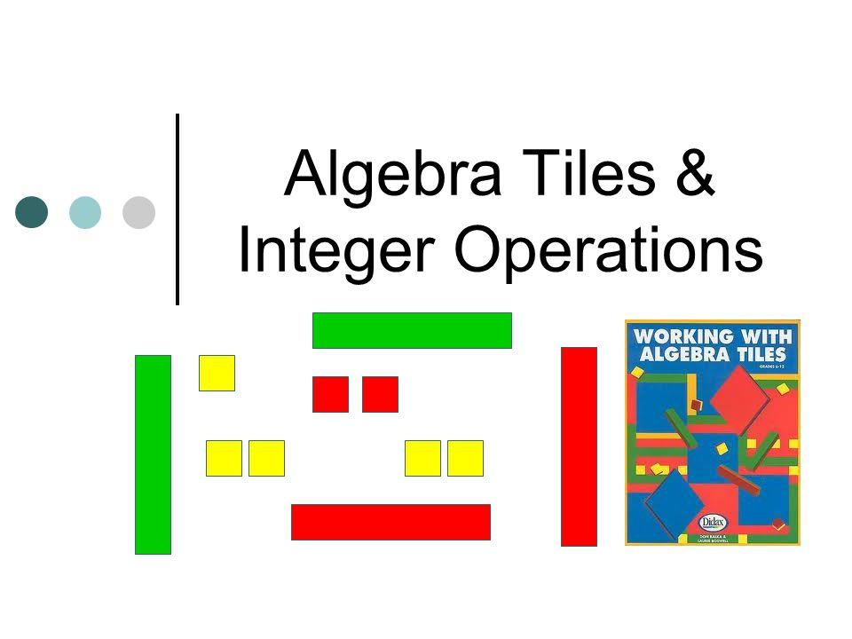 Algebra Tiles & Integer Operations
