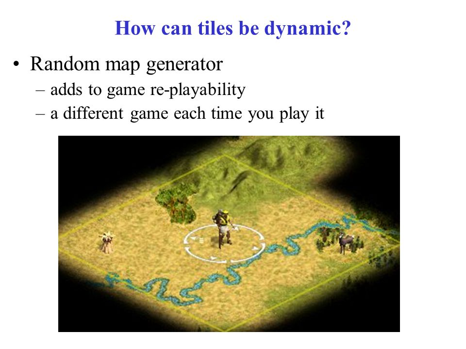 How can tiles be dynamic.