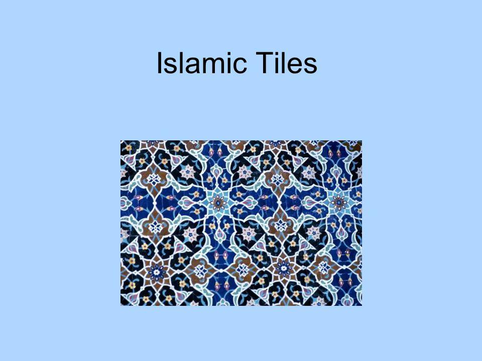 3 types of Islamic patterns Calligraphy Geometric designs Plantlike designs