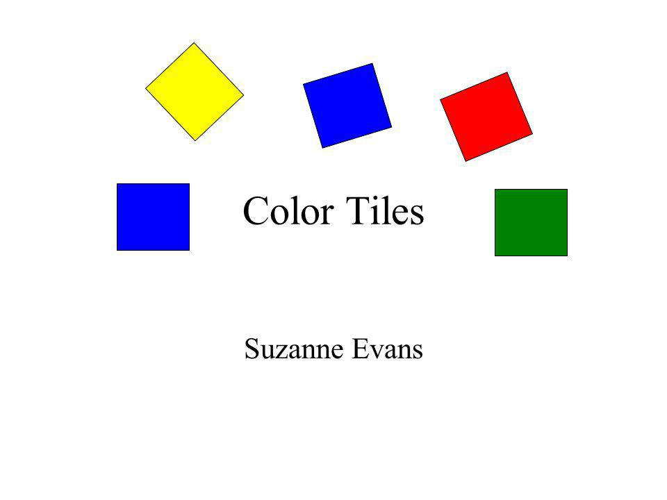Color Tiles Suzanne Evans