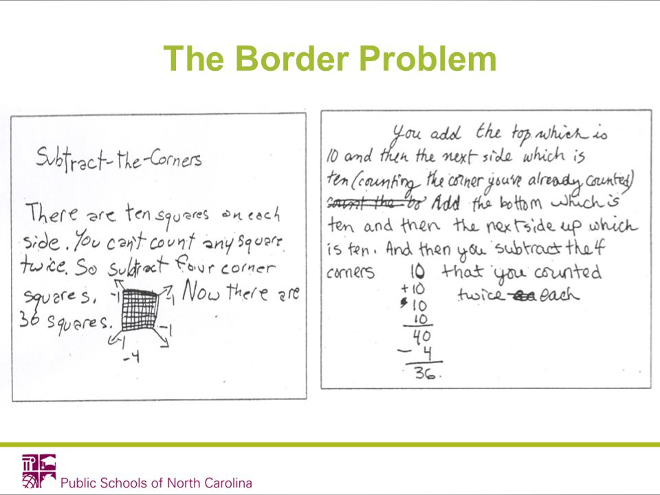The Border Problem