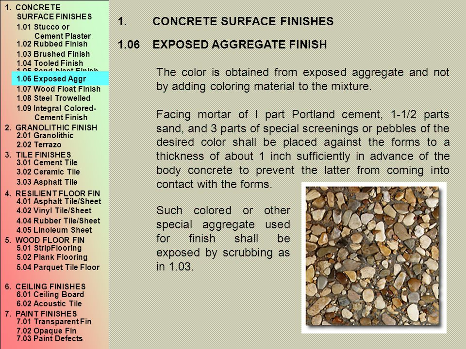 7.PAINT FINISHES 7.02OPAQUE FINISHES a.Paint 1.