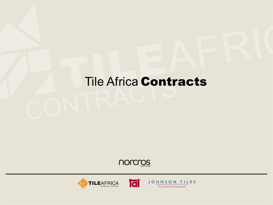 Tile Africa Contracts
