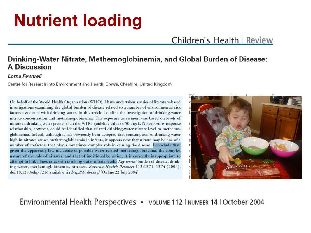 Nutrient loading