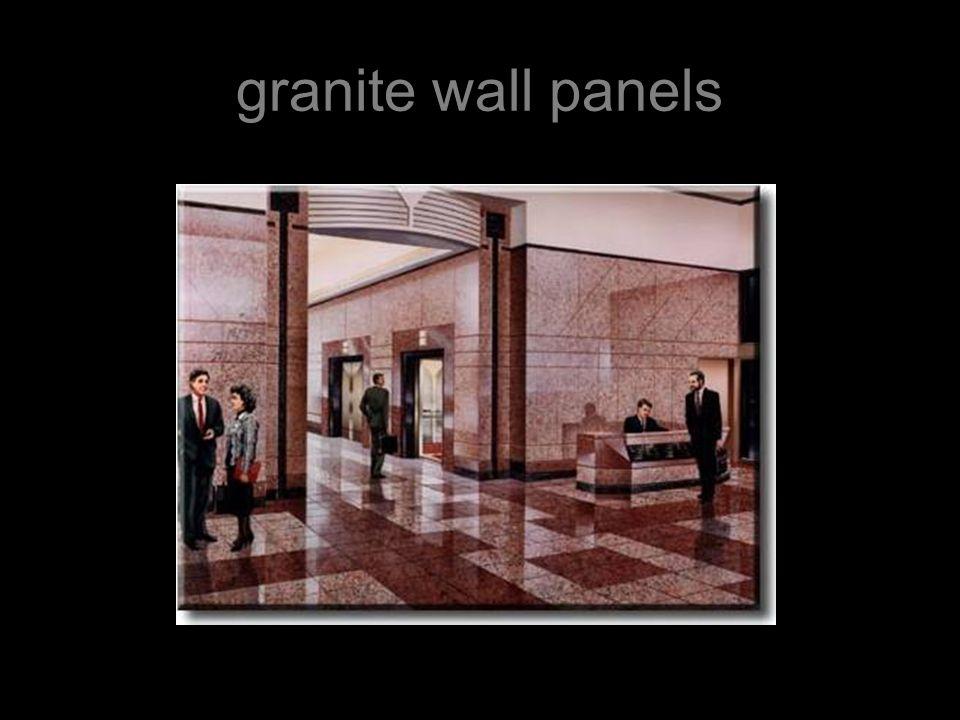 granite wall panels