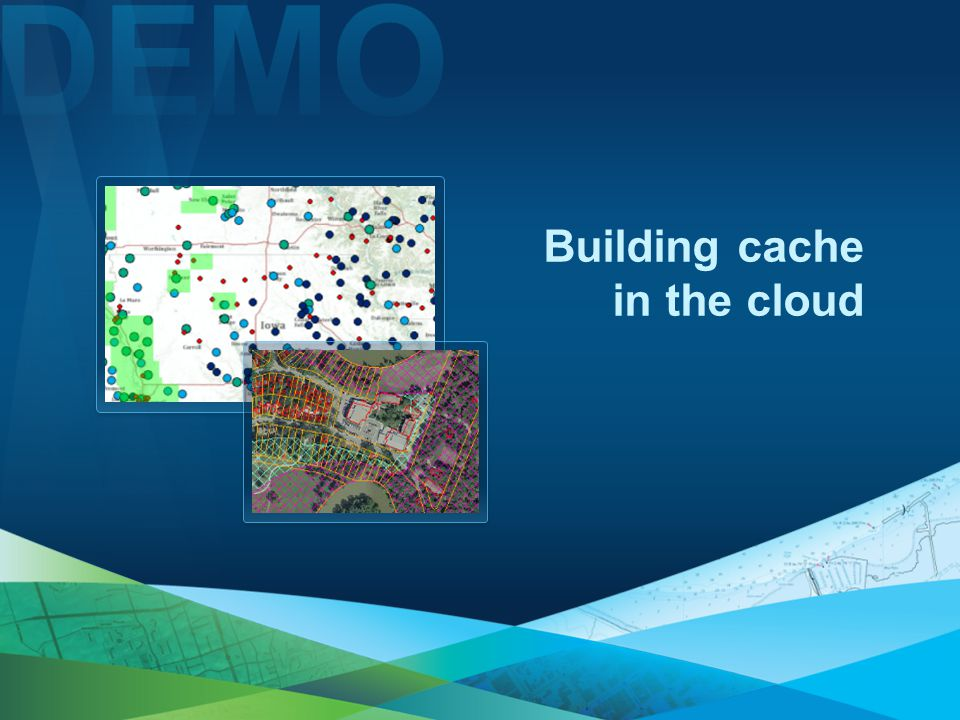 Building cache in the cloud