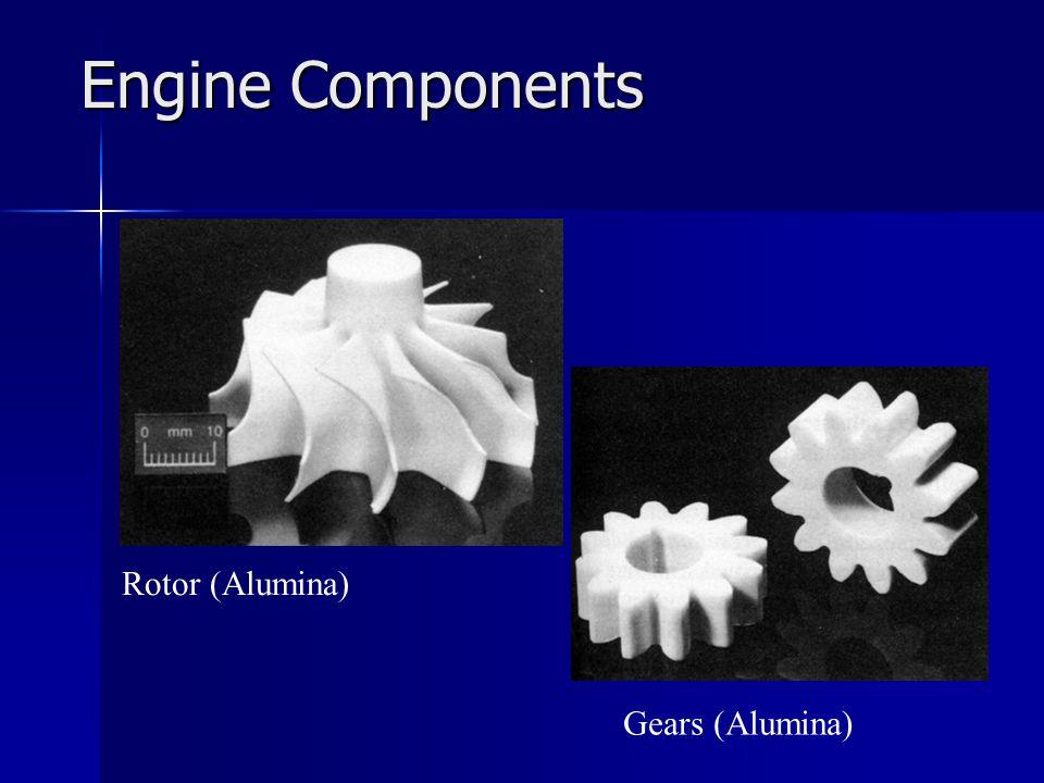 Engine Components Rotor (Alumina) Gears (Alumina)