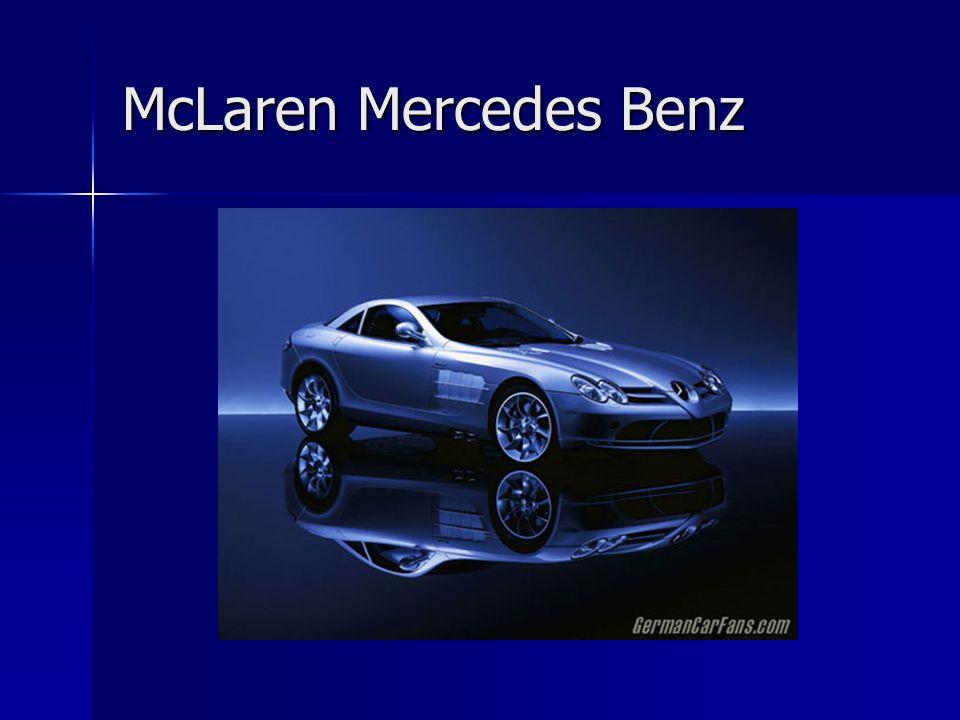 McLaren Mercedes Benz