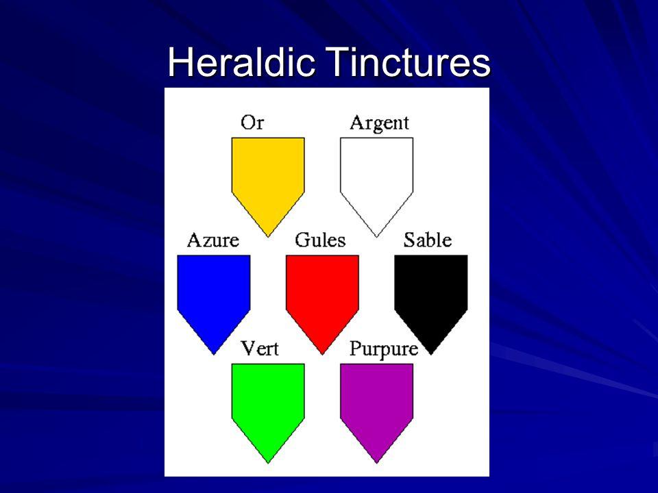Heraldic Tinctures