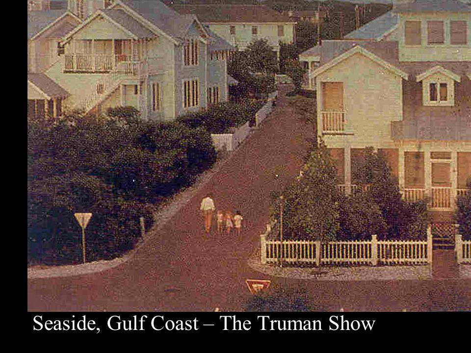 Seaside, Gulf Coast – The Truman Show