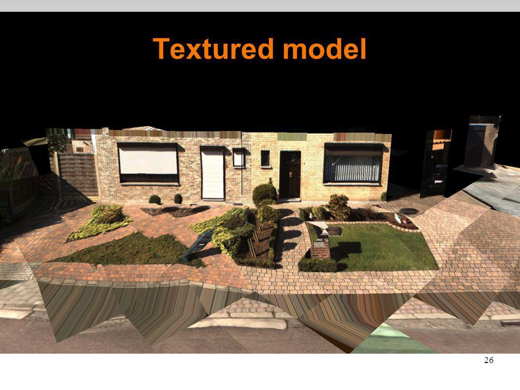 26 Textured model