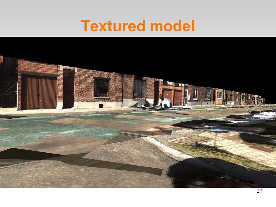 27 Textured model