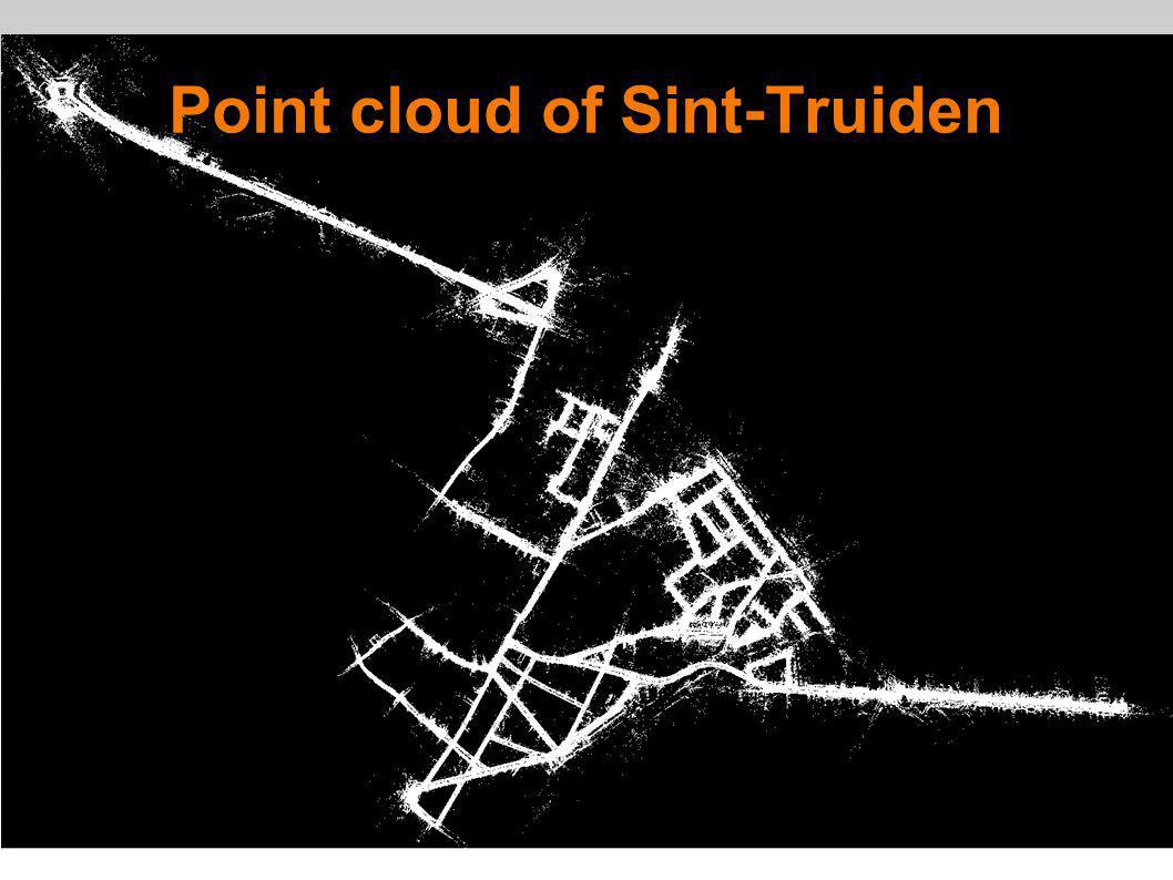 9 Point cloud of Sint-Truiden