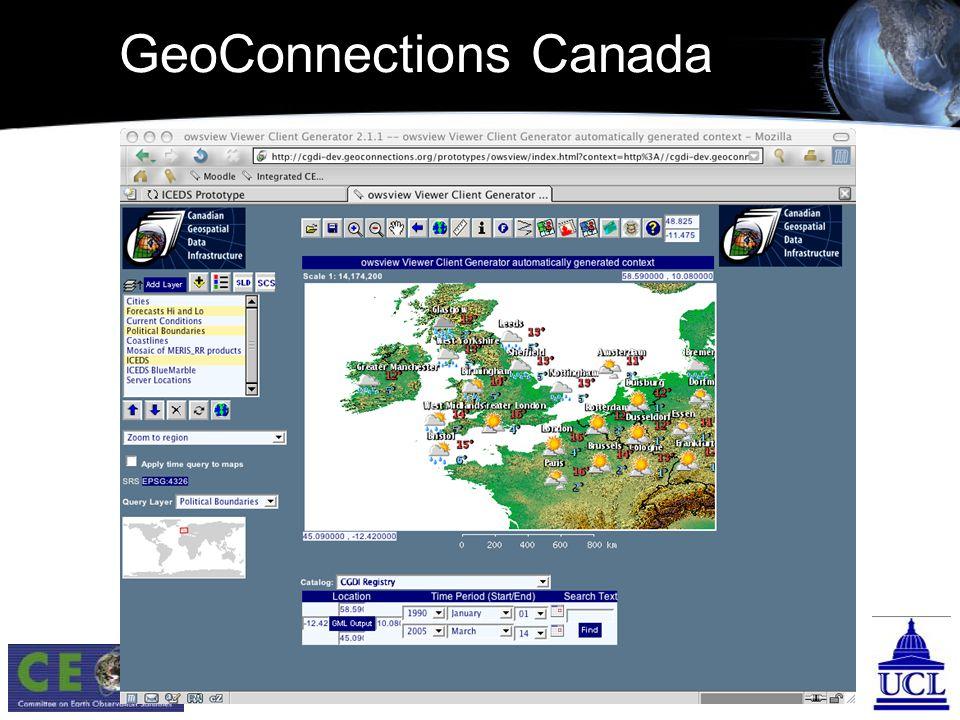 GeoConnections Canada