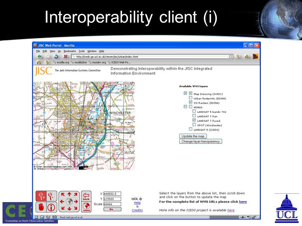 Interoperability client (i)