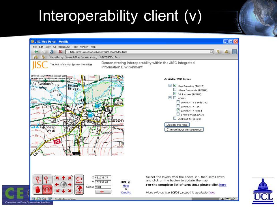 Interoperability client (v)