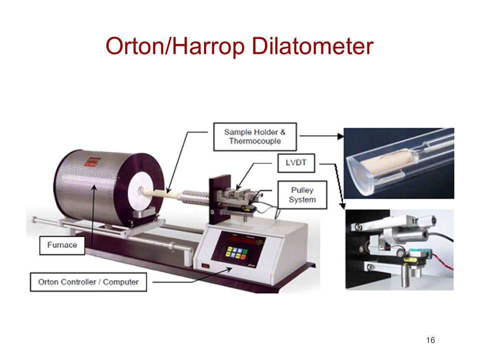 Orton/Harrop Dilatometer 16
