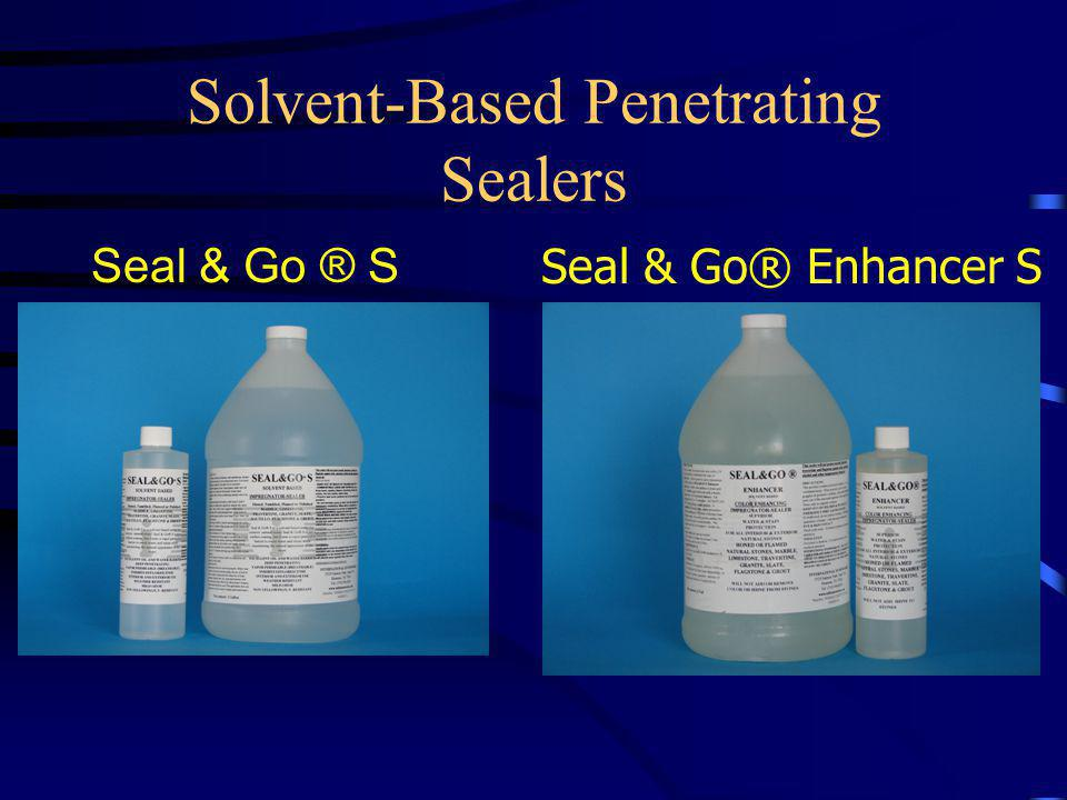 Water-Based Penetrating Sealer Seal & Go ® W