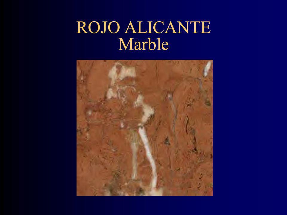 ROJO ALICANTE Marble