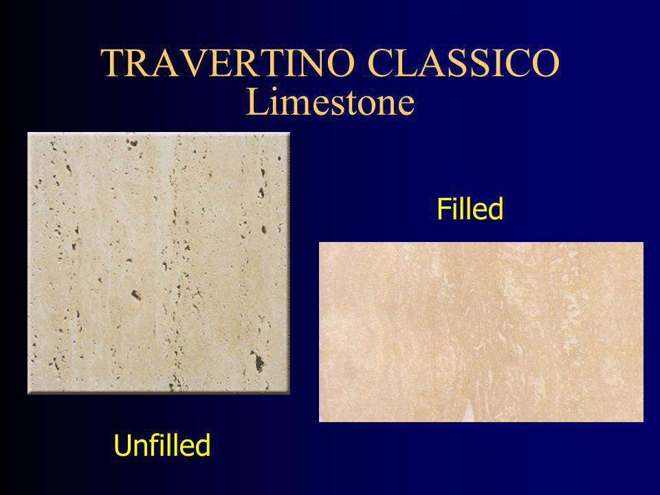 TRAVERTINO CLASSICO Limestone Unfilled Filled