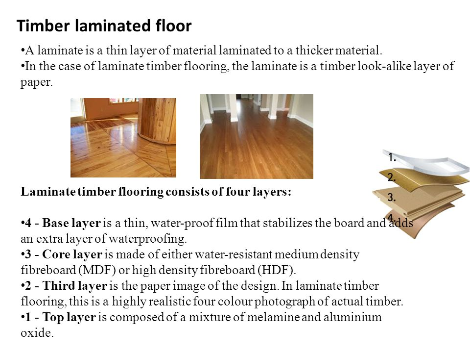Very affordable alternative to true timber, still offering the same ambience and colour to real timber.
