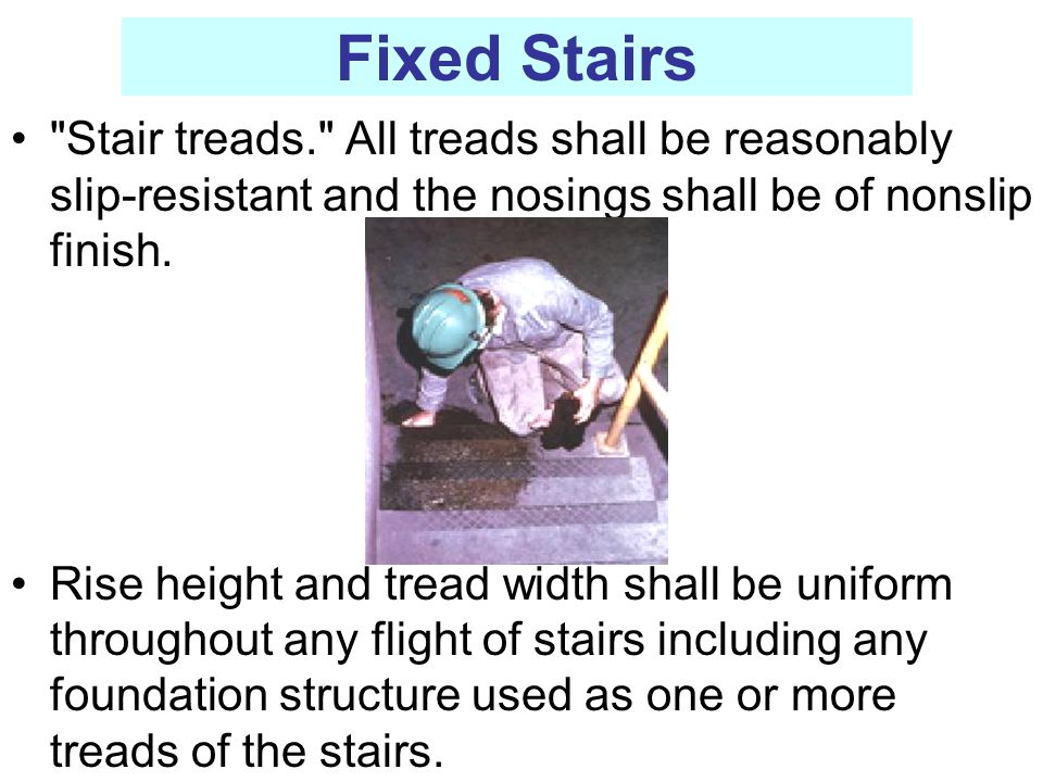 Fixed Stairs