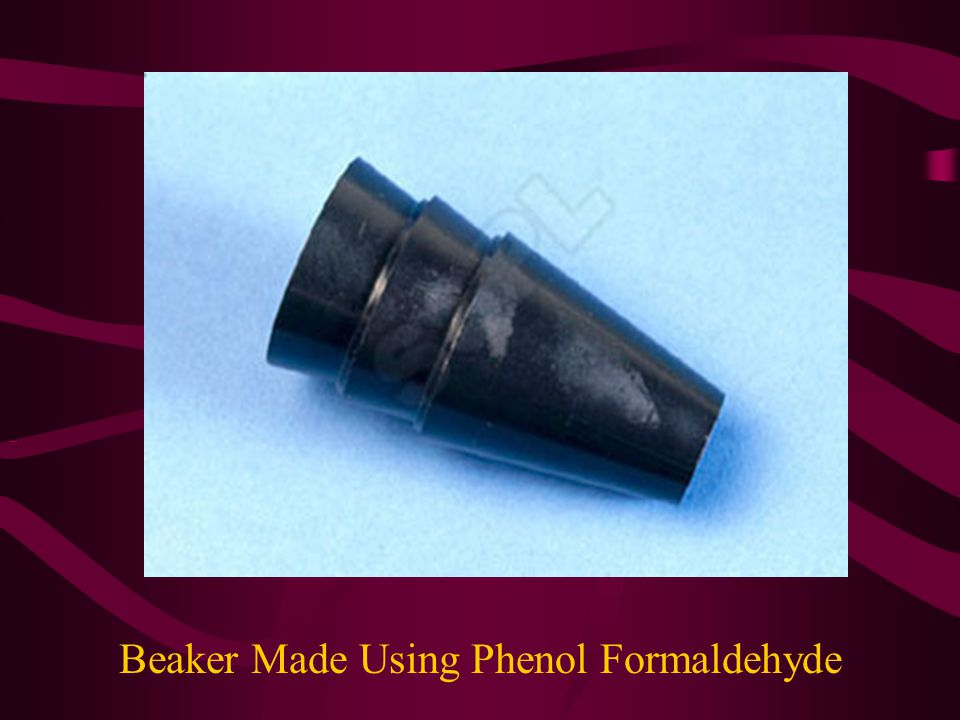 Beaker Made Using Phenol Formaldehyde