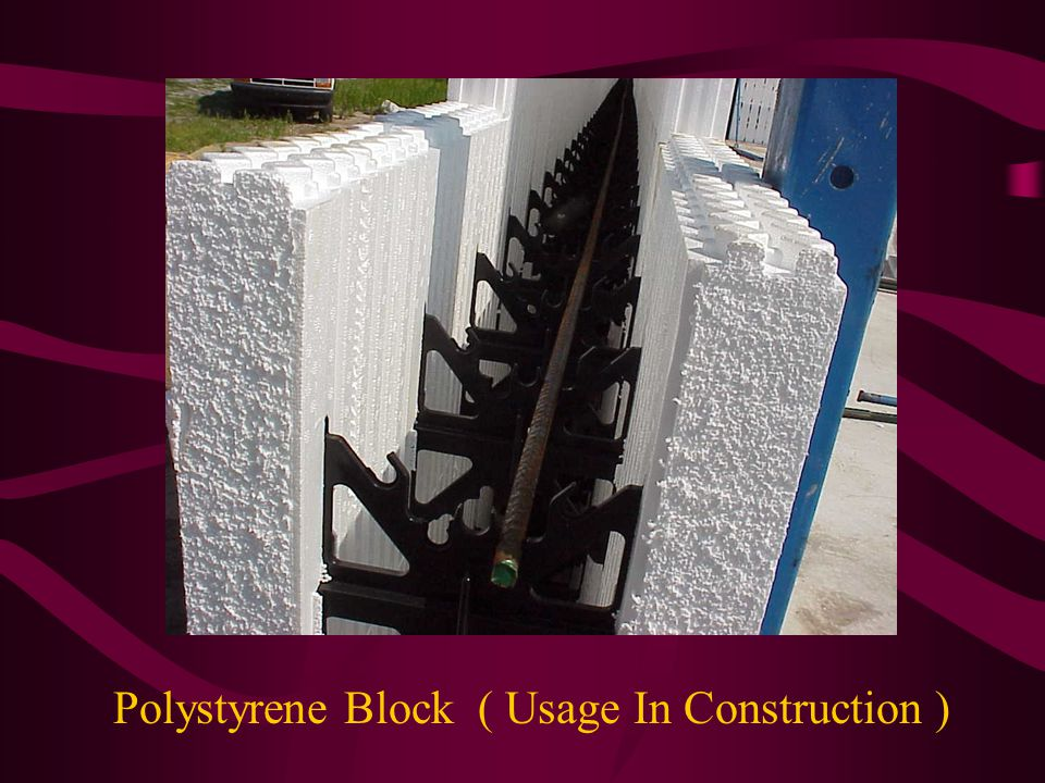 Polyvinyl Chloride (PVC) Specific gravity about 1.39 Its made from monomer, vinyl chloride Tensile strength low nearly like polystyrene Its an excellent insulator Used in raincoats and shower curtains Extensively used in floor tiles, electric cables, flexible sheeting, hoses, pipes, expansion joint filler,,moldings, luggage, decorative wall coverings,