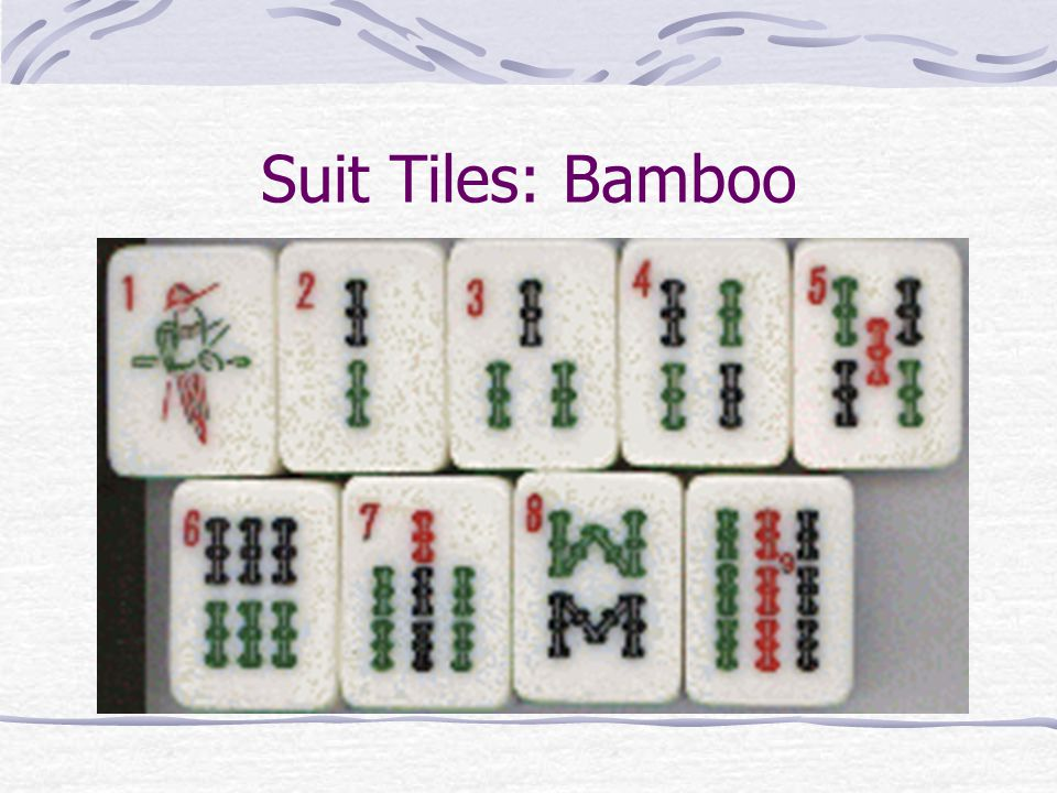 Suit Tiles: Characters