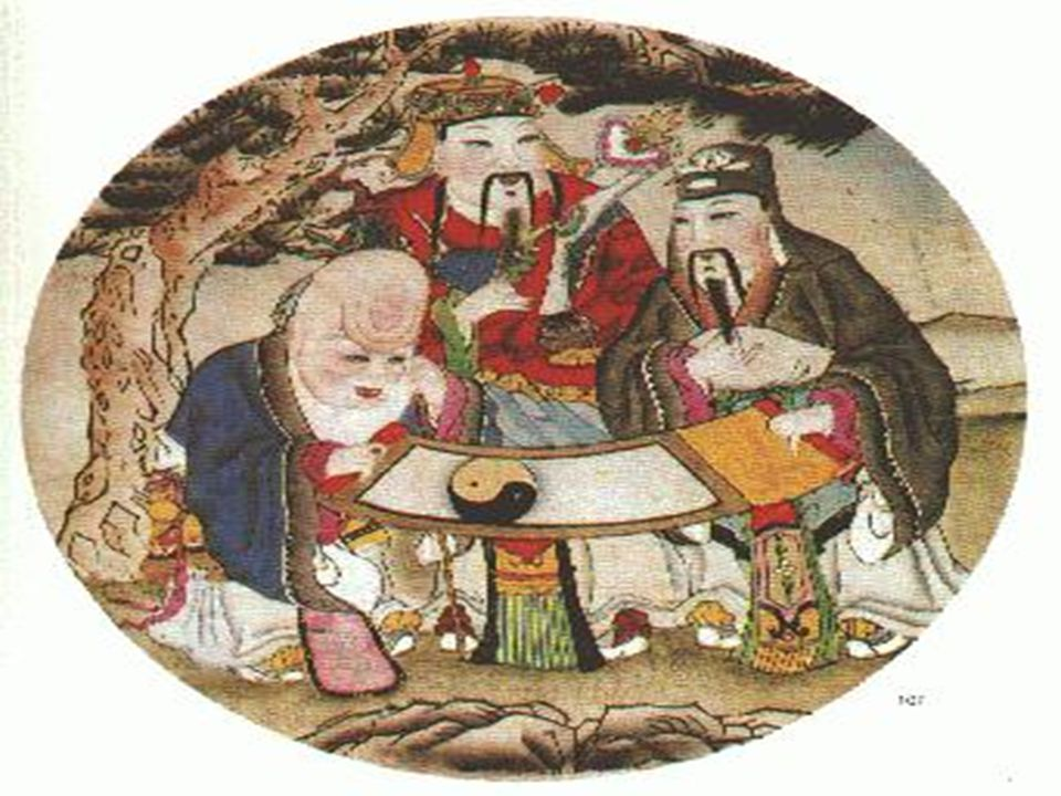 Art In ancient China, people believed that numerous gods inhabited the Three Realms (heaven, earth, and the underworld) and ruled over human affairs and destiny.