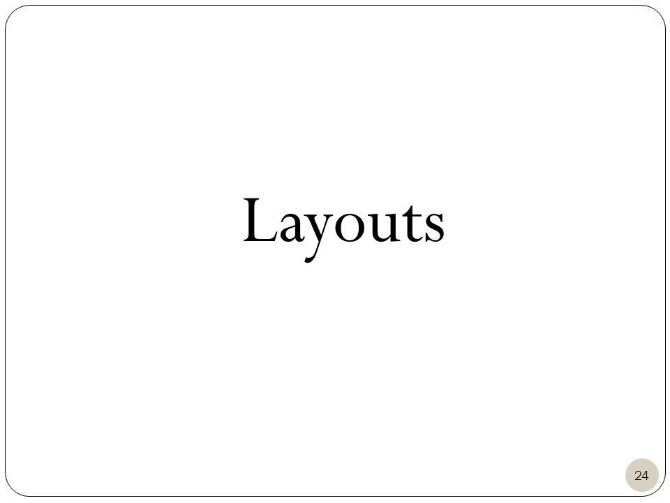 Layouts 24