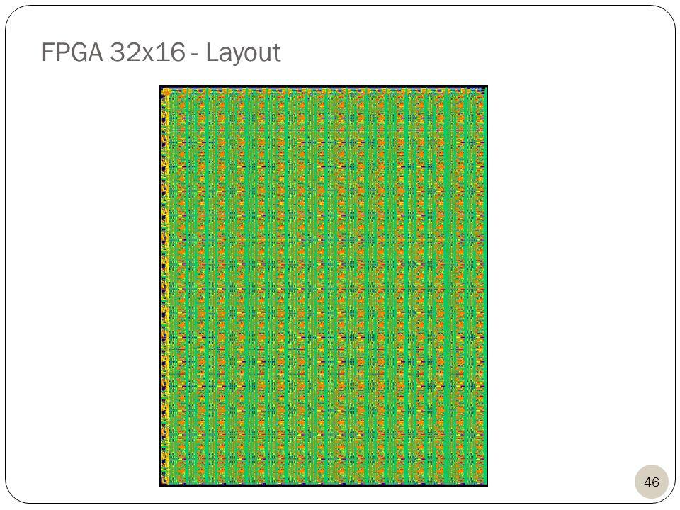 FPGA 32x16 - Layout 46