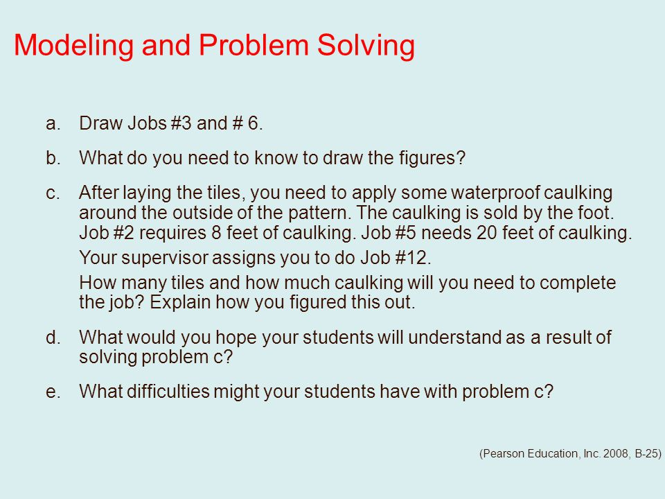 a.Draw Jobs #3 and # 6. b.What do you need to know to draw the figures.