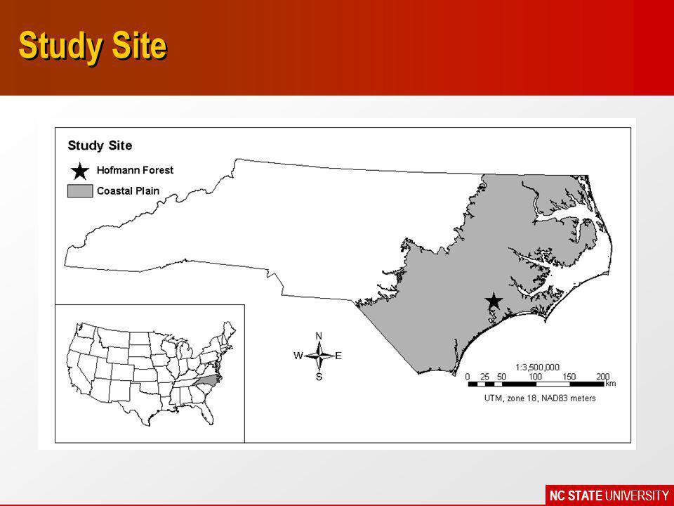 NC STATE UNIVERSITY Study Site