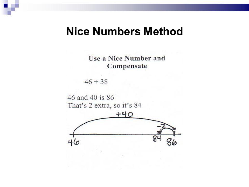 Nice Numbers Method