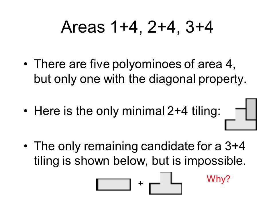 More Definitions The bounding box of a polyomino P is the smallest rectangle containing P.