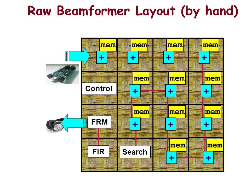mem + + + + + + + + + + + + Search FRM FIR Control Raw Beamformer Layout (by hand)
