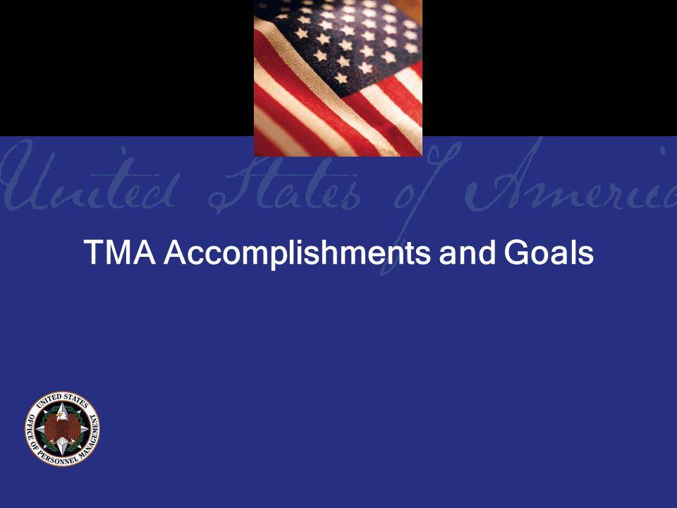TMA Accomplishments and Goals