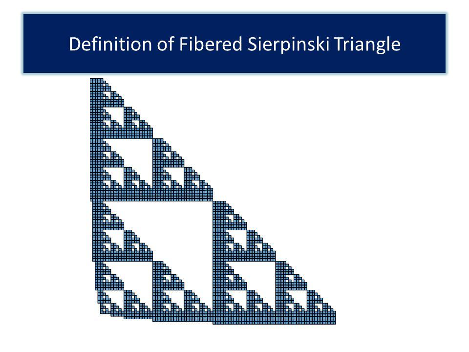 Definition of Fibered Sierpinski Triangle