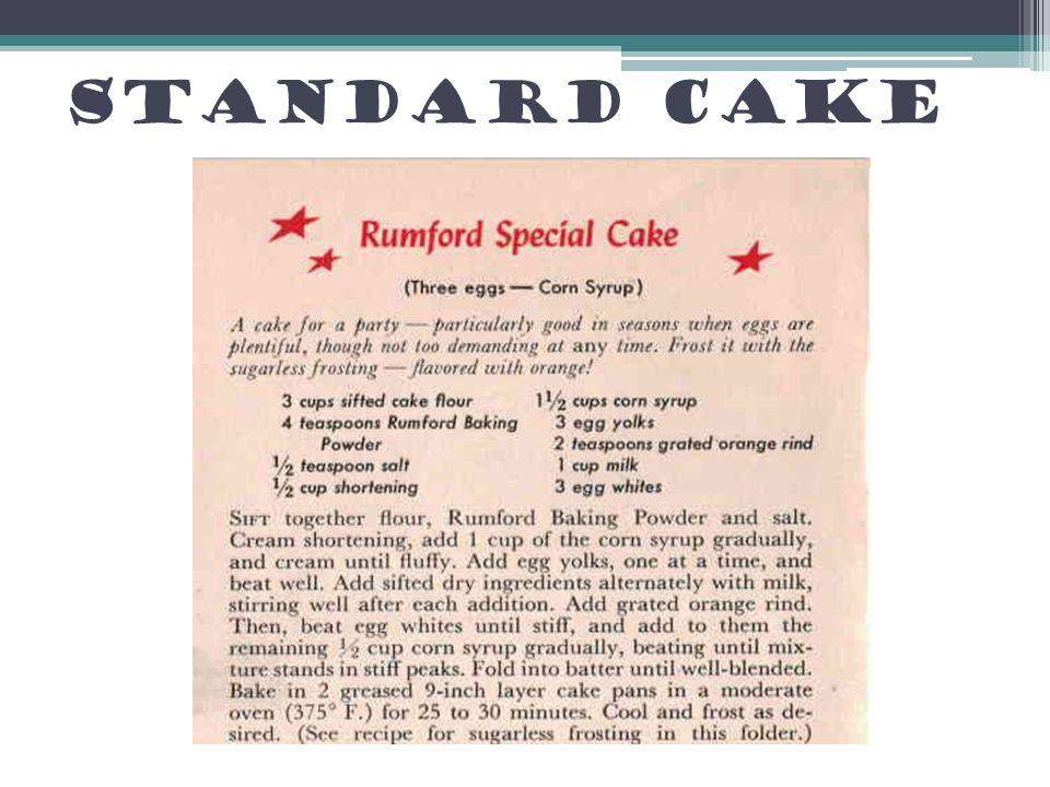 Standard Cake