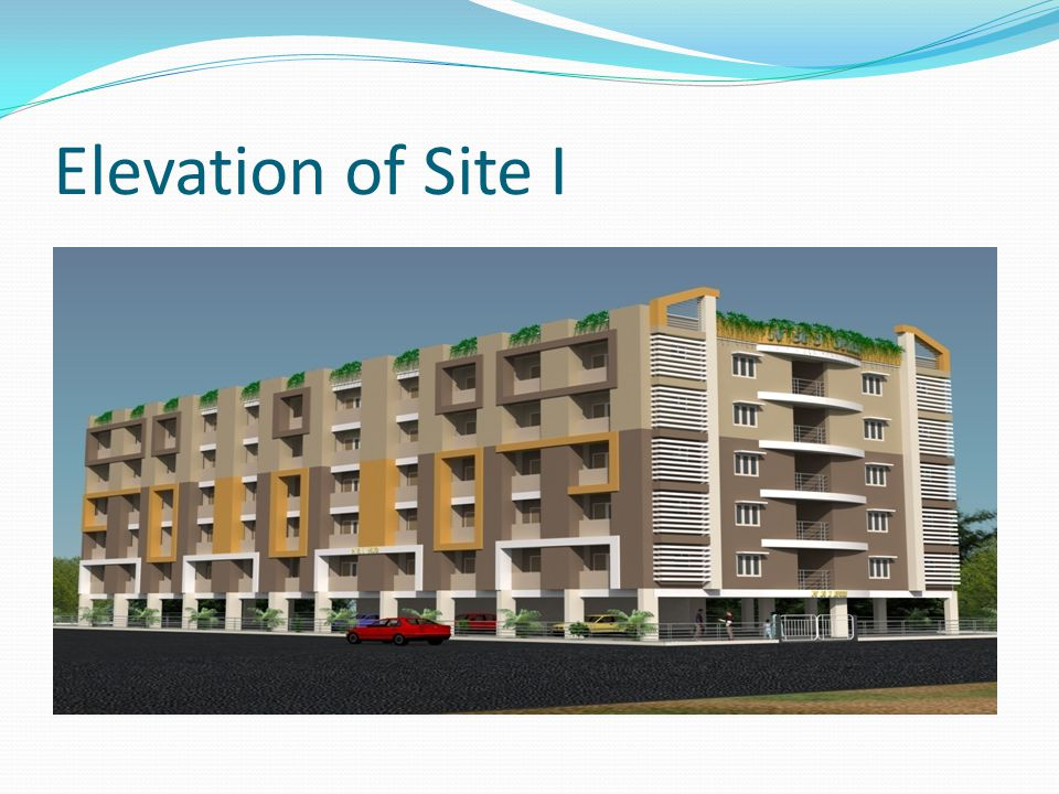 Elevation of Site I