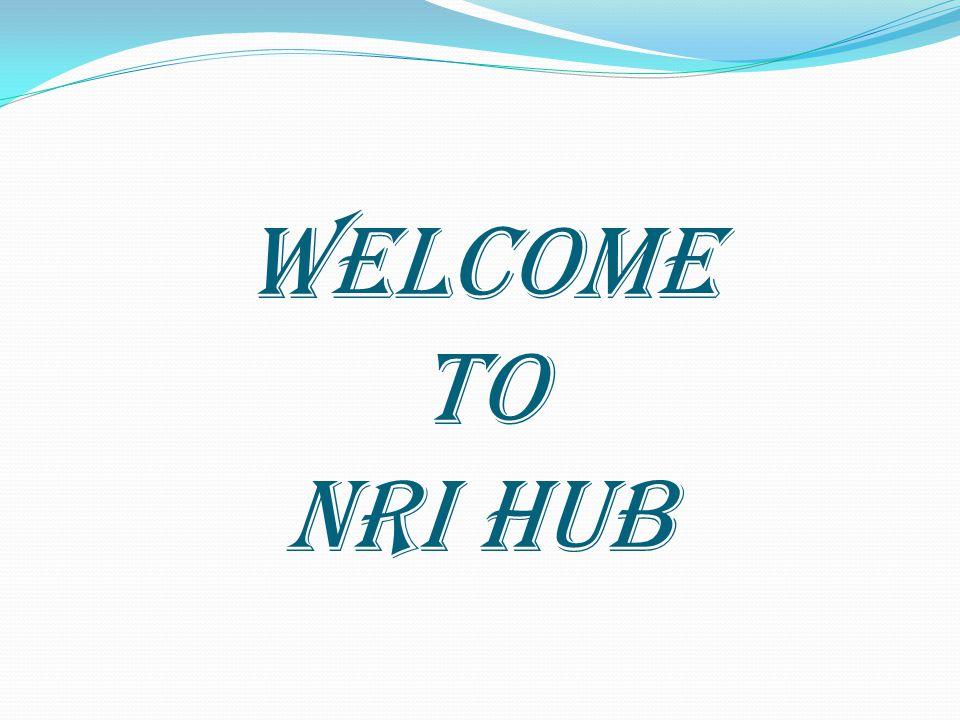 WELCOME TO NRI HUB