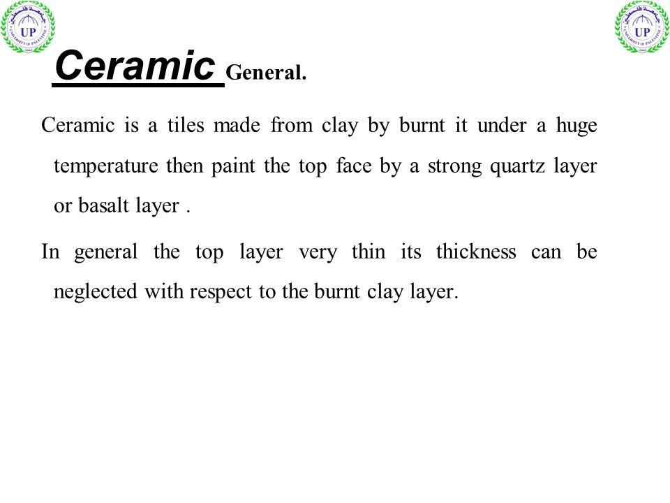 Ceramic General.