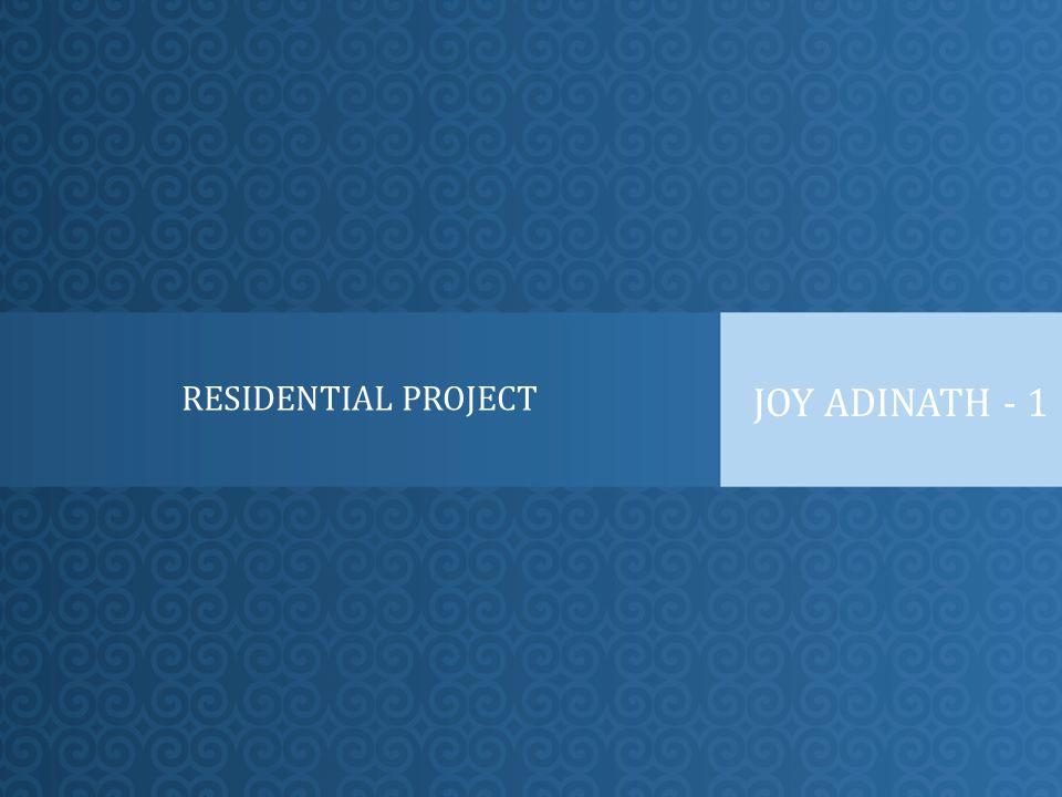 RESIDENTIAL PROJECT JOY ADINATH - 1