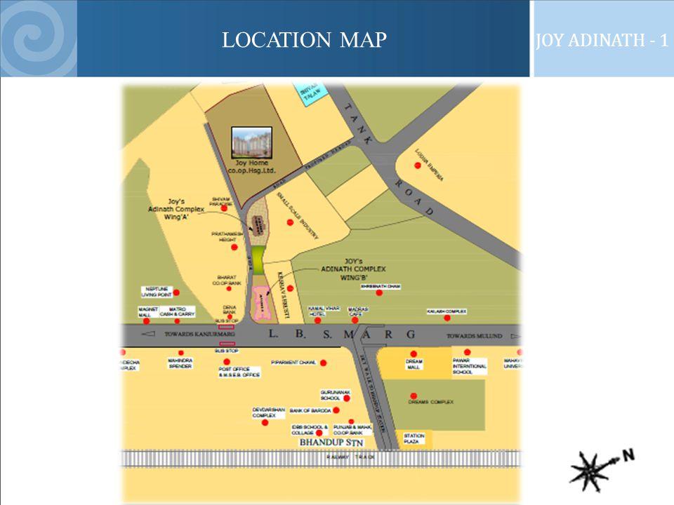 LOCATION MAP JOY ADINATH - 1