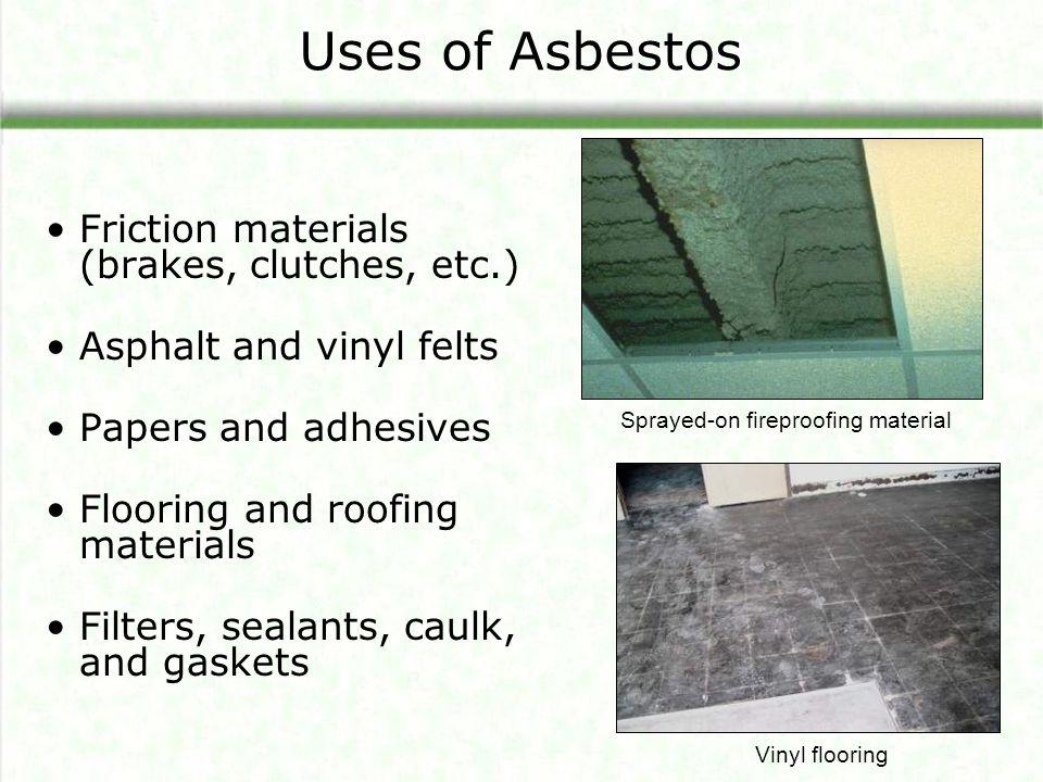 How do asbestos fibers get in the air.