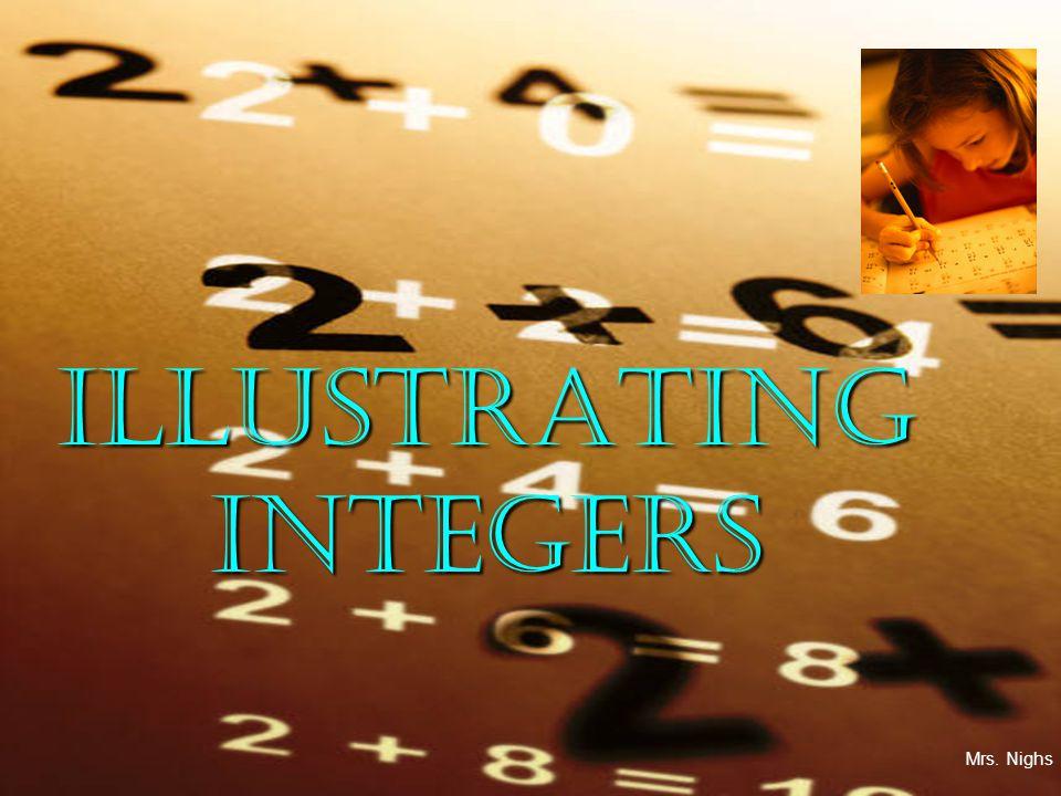 ILLUSTRATING INTEGERS Mrs. Nighs