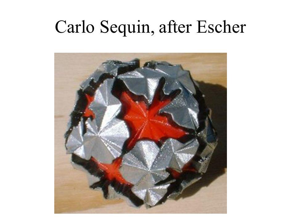 Carlo Sequin, after Escher