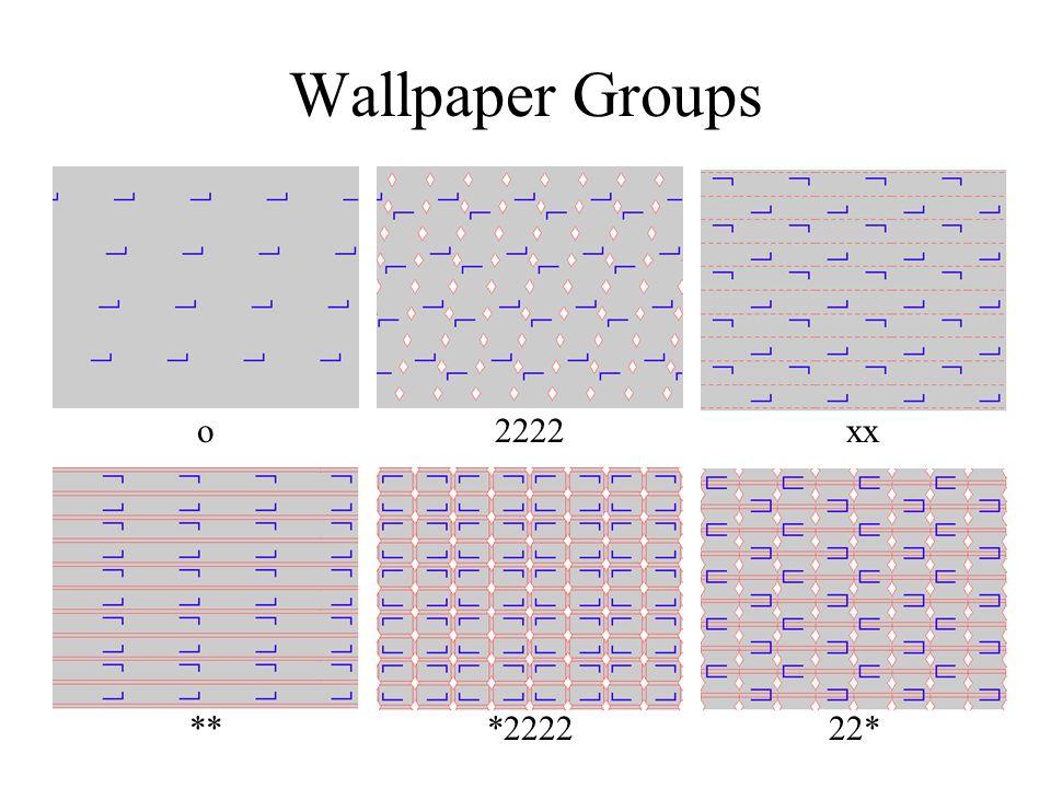 Wallpaper Groups o2222 ***222222* xx